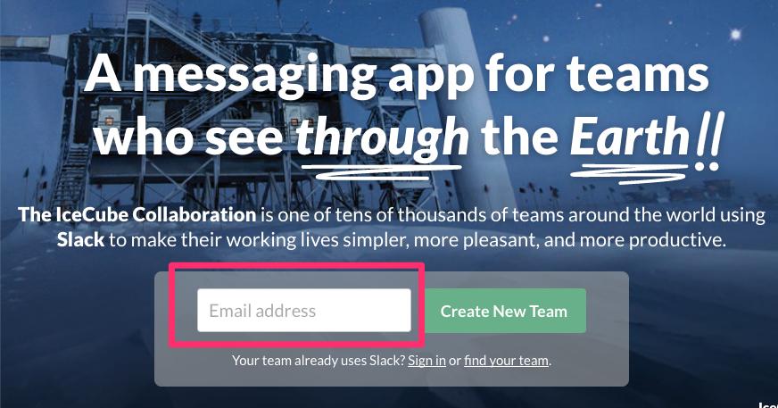 Slackのセットアップ